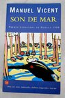 Son de mar / Manuel Vicent
