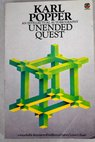 Unended quest an intellectual autobiography / Karl R Popper