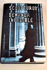 Demanda infalible / Scott Turow