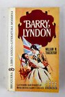 Barry Lyndon / William Makepeace Thackeray