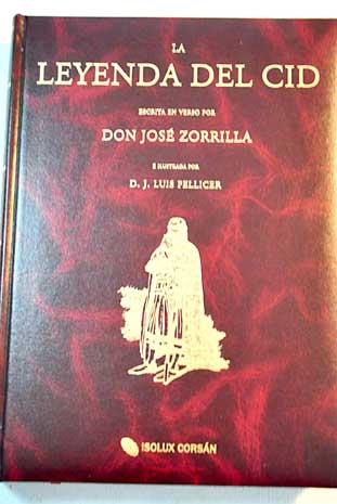 La leyenda del cid jose zorrilla for La leyenda del cid
