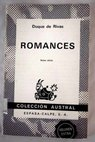 Romances / Duque de Rivas