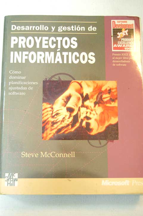 desarrollo y gestin de proyectos informticos steve mcconnell
