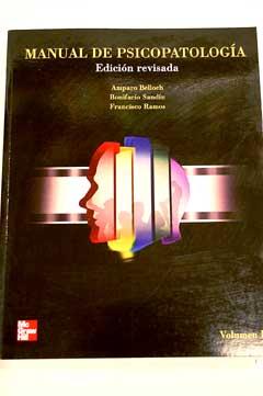 manual de psicopatologia amparo belloch rh libros antiguos alcana com manual de psicopatologia belloch vol 1 manual de psicopatologia vol 1