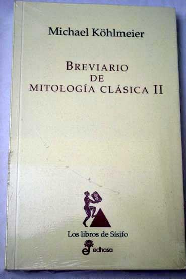 Breviario De Mitologia Clasica Michael Kohlmeier