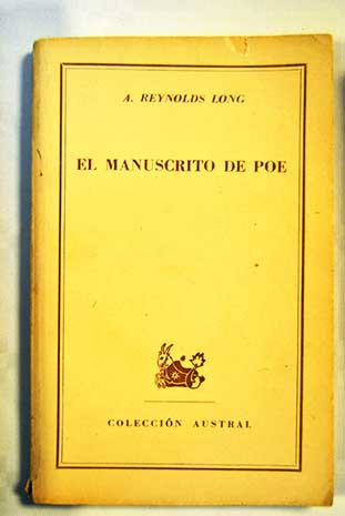 El manuscrito de Poe / Amelia Reynolds Long