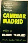 Cambiar Madrid