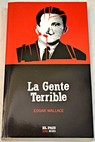 La gente terrible / Edgar Wallace