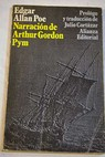 Narraciones de Arthur Gordon Pym de Nantucket / Edgar Allan Poe